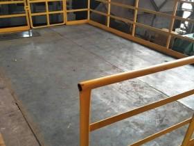 烧结平台增设安全护栏