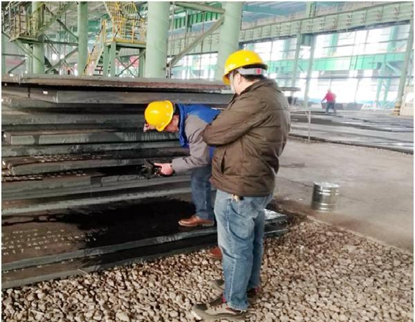 山东鲁能光大钢结构有限公司来我公司考察
