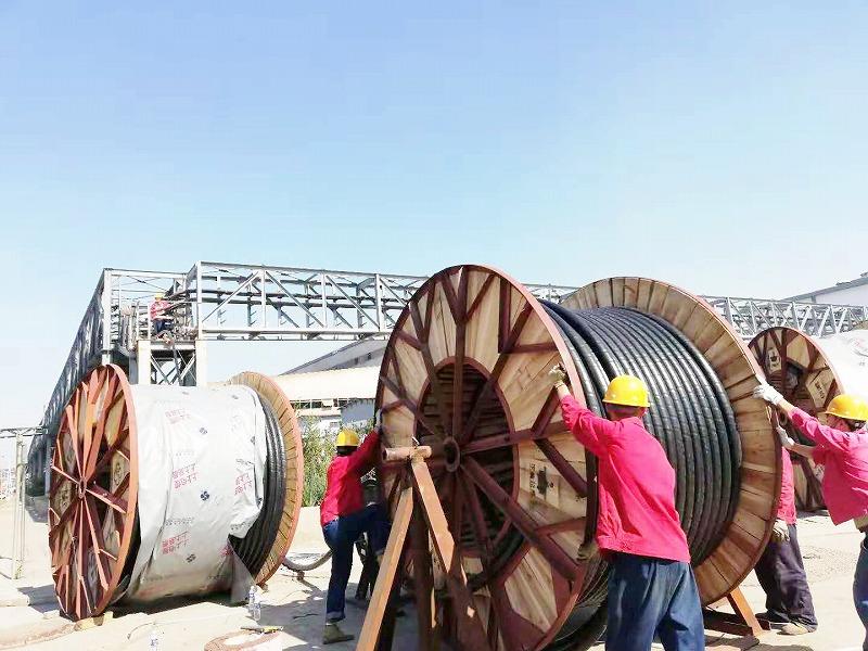 四期制氧项目电缆铺设